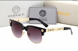 $enCountryForm.capitalKeyWord NZ - Women Oversize sunglasses Fashion famale Square Frame Sunglass X Large Mirrored Flat Top Sun Glass EU US Style big frame Vintage glasses