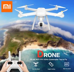 $enCountryForm.capitalKeyWord NZ - Xiaomi Mi Drone English App WIFI FPV 4K Camera RC Quadcopter Drone 3-Axis GimbalHelicopter HD Video Record Remote