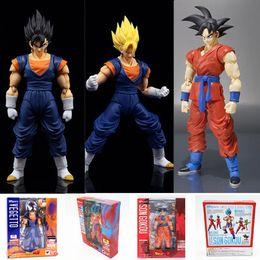 $enCountryForm.capitalKeyWord Australia - Dragon Ball Hero series Super Saiyan blue Son Goku Freeza Vegeta Anime toy model Decorative ornaments Action Figure