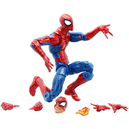 super man spider toy NZ - Pizza Spiderman Marvel Legends Infinite Series Toy Spider Man Super Hero Action Figure Model Toys For Christmas New Year Gift SH190717