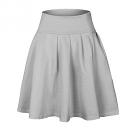 $enCountryForm.capitalKeyWord UK - New Fashion Summer Style Skirt women Cute Candy Color Fluffy Skirt Swing Skirts for Ladies Girls