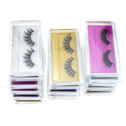 $enCountryForm.capitalKeyWord Australia - 3D Mink eyelash False Eyelashes Natural Long Fake Eyelash Extension Thick Cross Faux 3d Mink Eyelashes faux mink eyelash