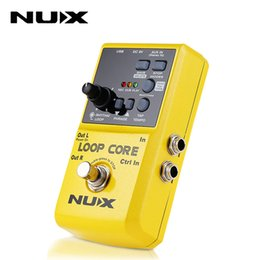 Loops Pedals Australia - NUX Loop Core Effect Guitar Electric Effect Pedal Durable Guitarra Effect Pedal 6 Hours Recording Time Guitar accessories