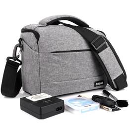 $enCountryForm.capitalKeyWord Australia - Photography Dslr Camera Bag Case Polyester Shoulder Bag For Canon Eos 200d 100d 77d 600d 700d 750d 6d 60d 1300d 1200d Photo Bag T190701