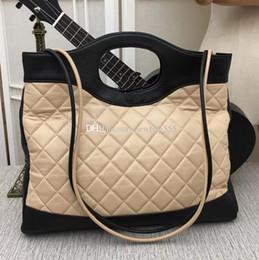 $enCountryForm.capitalKeyWord NZ - 2018 brand Hot vintage clutches women patchwork genuine leather diamond lattice shoulder bag foldable clutch handbag 39c Large shopping tote