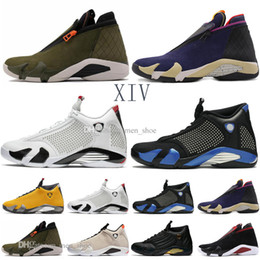 Silk Satin ShoeS online shopping - New s Reverse Last Shot Men Basketball Shoes Black blue Thunder Red Suede Last Shot Thunder Black Yellow DMP Sneakers