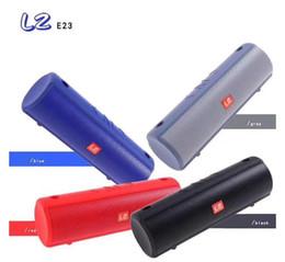 $enCountryForm.capitalKeyWord Australia - LZ-E23 explosion models wireless Bluetooth speaker cylinder audio subwoofer convenient wireless round bar Bluetooth speaker