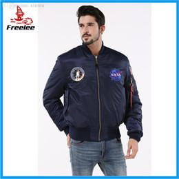 Wholesale flight jacket alpha for sale – winter Fall Alpha industries NASA flying jacket nomex flight jacket for men
