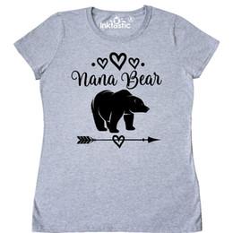 Discount tribal print clothes - Inktastic Nana Bear Grandma Gift Women's T-Shirt Clothing Tribal Present For Hws denim clothes camiseta t shirt
