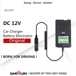 $enCountryForm.capitalKeyWord Australia - ham radio Original Battery Eliminator Car Charger 12V for SHIQUN SQ-25 Quansheng TG-50 -50 UV-R50-2 Car Charger 12V Battery UV R50