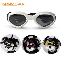 Red Ski Goggles Australia - Creative Dog Cat Sunglasses For Teddy Puppy Ski Goggles Dog \'S Accessories Cute Pet \'S Goggles For Protecting Eye Cool Pet Free