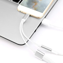 phone retail packaging charger 2019 - 2in1 Adapter earphone Splitter for Phone 8 9 Plus Headphone Audio Charger Adapter With Retail Package cheap phone retail