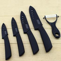 "$enCountryForm.capitalKeyWord Canada - DHL Ceramic Knifes Set 3"" 4"" 5"" 6"" inch Peeler With Covers Ceramic Steak Fruit Knife Sharp Ceramic Black Blade Knife set in stock"