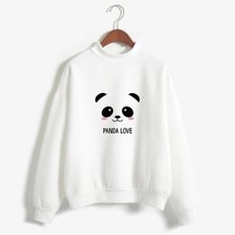 Wholesale sweatshirt hoodies panda for sale – custom New Hoody Spring Autumn Long Sleeve Kawaii Panda Printed Harajuku Sweety Sweatshirt Women Cue Hoodies Moletom Feminino