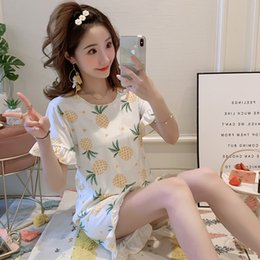 Short Sexy StudentS online shopping - YF536 sexy strap chest pad nightdress summer fresh sweet student pajamas female cartoon cute thin section home service