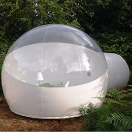 $enCountryForm.capitalKeyWord Australia - 3 4 5m 110 220V Outdoor Camping Inflatable Bubble Tent Large DIY House Dome Camping Cabin Lodge Air Bubble Transparent Tent