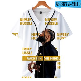 Music Man T Shirt Australia - Summer Nipsey Hussle HIP HOP T-shirt Male 2019 Music Winchester T-shirt High Quality 3d Casual T Shirt Fashion Tees top Men