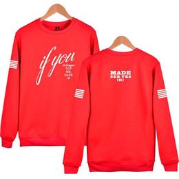 Kpop gd online shopping - Kpop Bigbang Hoodies Gd G dragon D lite Vi If You No Cap Hoodie Sweatshirts Fleece Hip Hop Made Streatwear xl Hn011