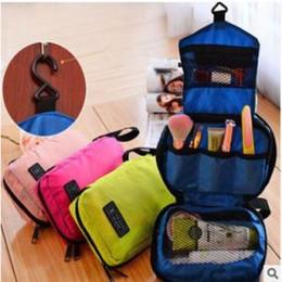 Hanging Wash Bags Australia - 4styles women Travel mate Cosmetic bags  hanging portable Makeup Toiletry Purse b771507a232da