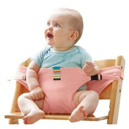 infant feeding chairs UK - Hot Sale Portable Baby Chair Infant Seat Baby Safety & Gear Product Dining Lunch Chair Seat Safety Belt Feeding High Harness