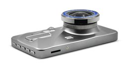 "$enCountryForm.capitalKeyWord NZ - New Portable Dual Lens Car DVR Camera Dash Cam Full HD 1080P 4"" IPS Front+Rear Blue Mirror Night Vision Video Recorder Car Dvr"