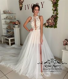 Cathedral Style Wedding Dresses Australia - Modest Plus Size Cheap Wedding Dresses 2019 Illusion Vintage lace Appliques Peplum Cathedral Train Country Beach Greek Style Bridal Gowns