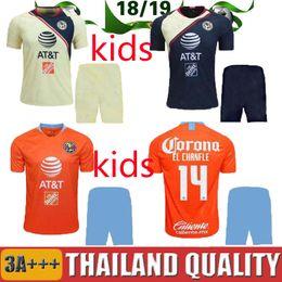 ca25bad6736 Jersey Club America Third NZ - 18 19 LIGA MX Club America third kids kit  soccer