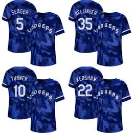 eb2b07c0851 Mens Camo Los Angeles 5 Corey Seager 10 Justin Turner 22 Clayton Kershaw 35  Cody Bellinger 42 Jackie Robinson Dodgers Baseball Jerseys