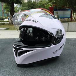 Dual Lens Half Helmet Australia - High-quality ABS resin motorcycle full face helmet, stylish dual-lens racing helmet,Capacete De Moto 8