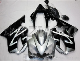 f4i fairings UK - OEM Quality New ABS Full Fairings Kits fit for HONDA CBR600RR F4i 2004 2005 2006 2007 CBR600RR Bodywork set Custom Free Black Gray