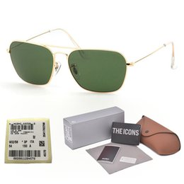 SunglaSSeS g15 online shopping - Best quality Brand Designer Sunglasses Men Women Alloy Frame G15 gradient Glass Lens oculos de sol With free Retail cases and label