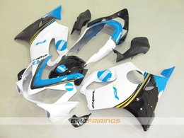 $enCountryForm.capitalKeyWord Australia - New Injection Mold ABS motorcycle bike Fairings Kits Fit For HONDA CBR600F F4i 04-07 2004 2005 2006 2007 body custom Fairing white sky blue