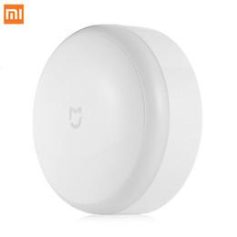 $enCountryForm.capitalKeyWord NZ - Original Xiaomi MIJIA LED Corridor Night Light Infrared Remote Control Body Motion Sensor Smart Home Night Lamp Mi Yeelight bulb