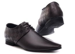 $enCountryForm.capitalKeyWord Australia - Hot Sale-Brand men shoes Dress Shoes Leather material mens designer for men with Genuine Leather fashion casual men luxury shoes SIZE:40-47