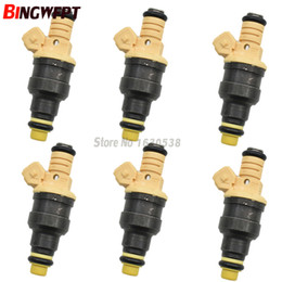 car style parts Canada - 6x New Fuel Injectors For Ford Ranger Explorer 4.0 V6 0280150972 Injection Nozzle Car-styling Engine Valve Parts 06A906031