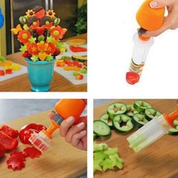 $enCountryForm.capitalKeyWord NZ - itchen Gadgets Vegetable 2018 New Kitchen Tools Decorator Salad ABS+PP 6PCS Lovely Beautiful Arts Fruit Shaper Fruit Vegetable Cake To...