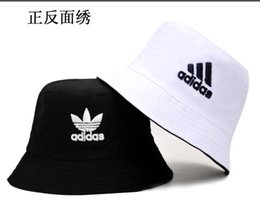 717a0405 2019 Fashion Wide Brim Women Summer Cotton Foldable Hats Polka Dot Casual Bucket  Hat Lady Visors fisherman Cap Floppy Beach Sun fishing Hat