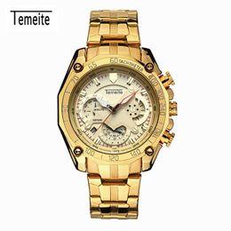 $enCountryForm.capitalKeyWord Australia - Quartz minion Watch Fashion More Function Time Table Calendar Steel Bring Motion Wrist roles men's sport mechanical watches men wristwatches