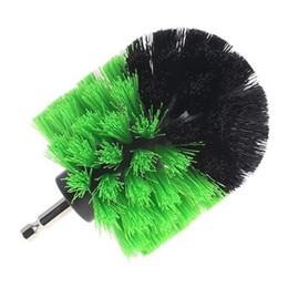 $enCountryForm.capitalKeyWord UK - 1pcs Drill Cleaning Brush Round Brush Head Power Scrubber Stiff Scrub Brush Bit Pad Bathroom Tile Tool Car Auto Accessories