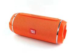 $enCountryForm.capitalKeyWord Australia - Bluetooth Wireless Speakers TG-116 LED colorful lights Dual Speaker Subwoofer Portable Bluetooth wireless speaker Support TF USB Card