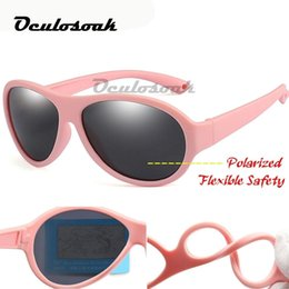 $enCountryForm.capitalKeyWord Australia - Kids Sunglasses Brand Baby Girls Sunglass Polarized Children Sun Glasses Flexible Safety Frame Uv400 Birthday Christmas Gifts