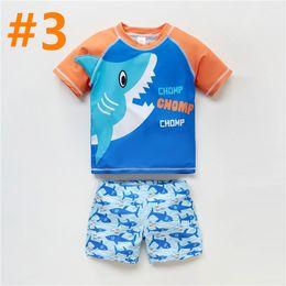 $enCountryForm.capitalKeyWord Australia - 2019 Childrens swimsuit,baby beachwear.short-sleeved surfing suits,children's beach suits, split suits.Boys swim suit.quick drying function.