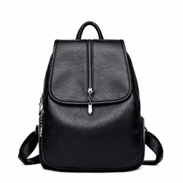 $enCountryForm.capitalKeyWord UK - 2018 Women Backpack High Quality Leisure Rucksack Pu Leather Mochila Mother Vintage Bags Top-handle Backpacks Fashion Daypack J190706