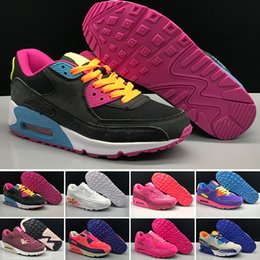 Branded Designer Shoes For Men Australia - Cheap Brand Designer 90 For Men Cushion Running Trainers Shoes Outdoor Sports Sneaker Jogging Walking Hiking Sports Sneakers Size 40-46