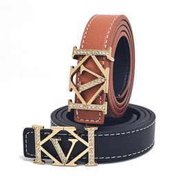wide red leather belt UK - Spring and summer boys and girls belt PU hundred fashion decoration children belt children children belt