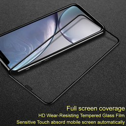 iphone glass screen guard Australia - wholesale Glass for iPhone XR XS Max Pro+ Anti-explosion Full Screen Tempered Glass Protector Guard Film for iPhone XS Max