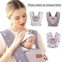 $enCountryForm.capitalKeyWord Australia - Baby Strap Sling X-shaped Bag Belt With Long Simple Strap Light Effortless Protect Baby's Back For Child Baby Travel In Stock