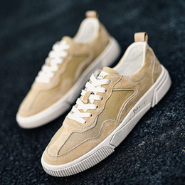 Spring Fall Canvas Shoes Australia - 1505 Fashion Retro Mens Spring and Fall New Leisure Mens Shoes Trendy Breathable and thin canvas sneakers