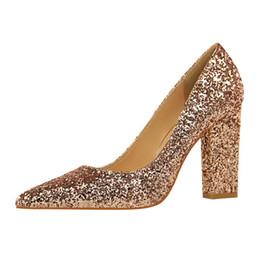 de793823802 Clear bloCk heels online shopping - Dress Bigtree Brand Spring Women Bling High  Heels Pumps Lady