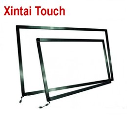 """Support Hp NZ - 84"""" Infrared Sensor Multi Touch Screen Panel Truly 10 Points USB IR Touch Frame Support Windows 7 8 10"""